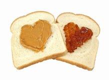 арахис влюбленности студня масла Стоковая Фотография RF