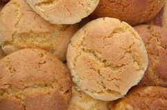 арахис имбиря печений масла Стоковое фото RF