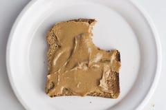арахис масла хлеба Стоковые Фотографии RF