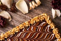 арахис торта домодельный Стоковые Изображения