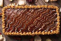 арахис торта домодельный Стоковое Изображение