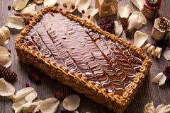 арахис торта домодельный Стоковые Фотографии RF