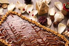 арахис торта домодельный Стоковое Изображение RF