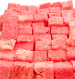 Арбуз определенный размер укусом III Стоковые Фотографии RF