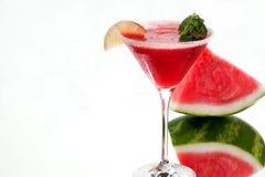 арбуз питья Стоковая Фотография RF