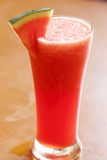арбуз smoothie стоковая фотография rf
