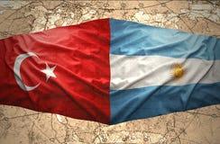 Аргентина и Турция иллюстрация штока