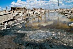 Аргентина epecuen город-привидение Стоковая Фотография RF