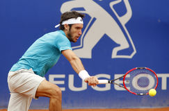 Аргентинский Leonardo Mayer теннисиста Стоковое фото RF