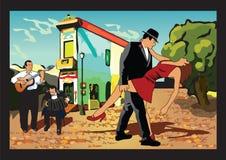 аргентинское танго Стоковое Фото
