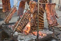 аргентинское asado Стоковое Изображение