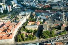 ареальный взгляд berlin Стоковые Изображения