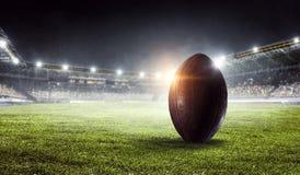 Арена американского футбола Мультимедиа Мультимедиа Стоковое Изображение