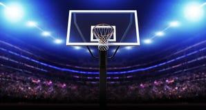Арена баскетбола иллюстрация вектора