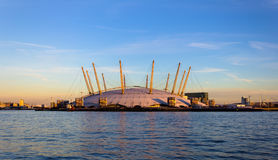 Арена 02 в Лондоне Стоковая Фотография RF