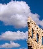 Арена в небе Стоковые Фото