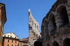 арена римский verona amphitheatre стародедовская стоковое фото rf