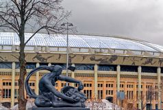 Арена спорт олимпийского сложного Luzhniki стоковые изображения rf