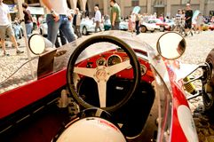 Арена формулы racecar на Бергаме историческом Grand Prix 2017 Стоковое Изображение RF