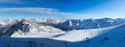 Арена лыжи Sölden Стоковое Изображение