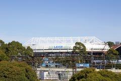 Арена Laver штанги стоковое изображение