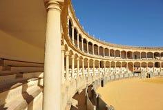 Арена Maestranza в Ronda, Андалусии, Испании Стоковое Изображение