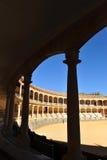 Арена Maestranza в Ronda, Андалусии, Испании Стоковое фото RF