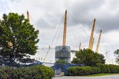 Арена O2ий на Гринвиче, Лондоне, Англии, Великобритании Стоковое фото RF