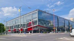 Арена Ondrej Nepela в Братиславе, Словакии Стоковые Изображения