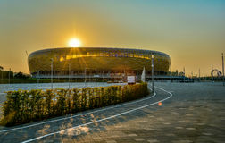 Арена PGE в Гданьске Стоковое фото RF