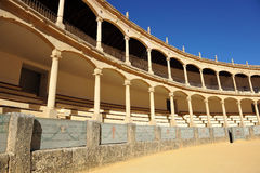 Арена Ronda, Испании Стоковые Фотографии RF