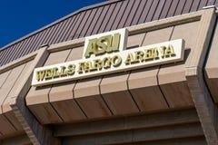 Арена Wells Fargo на государственном университете Аризоны стоковая фотография