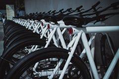 Арендные велосипеды Стоковые Изображения