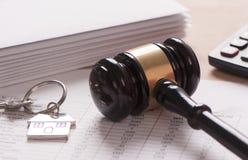 Арендный контракт стоковое изображение