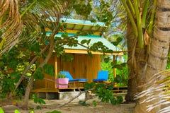 Арендный дом на пляже приятельства, Бекии Стоковые Изображения RF