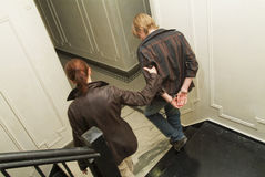арестовано был подростком Стоковое Изображение