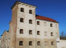 Арест Bjerre, тюрьма, покинутый, историческая Стоковые Фотографии RF