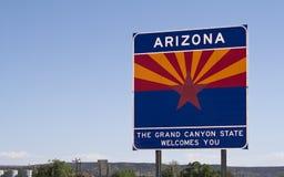 Аризона, котор нужно приветствовать Стоковые Фотографии RF
