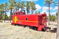 Аризона, Overgaard: Камбуз Nr ATSF 999285 стоковая фотография rf