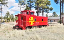 Аризона, Overgaard: Приведенный камбуз Nr ATSF 999285 стоковое изображение rf