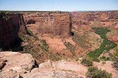 Аризоны каньона соотечественник de памятника chelly Стоковые Изображения RF