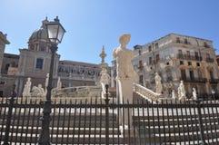 аркада pretoria Сицилия Италии palermo стоковые изображения rf
