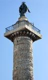 аркада rome Италии marcus колонки colonna aurelius стоковая фотография