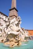 аркада rome navona Италии Стоковые Изображения