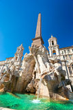 аркада rome navona Италии стоковая фотография