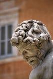 аркада rome navona фонтана Стоковое Изображение RF