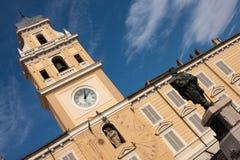 аркада s parma дворца Италии воевода garibaldi стоковая фотография rf