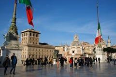 Аркада Venezia Италия Vittoriano стоковая фотография rf