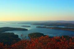 Арканзас River Valley Стоковые Фото