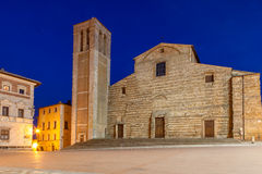 Аркада большая, Montepulciano, Тоскана, Италия стоковая фотография rf
